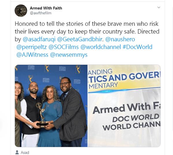Pakistani Documentary Wins Emmy