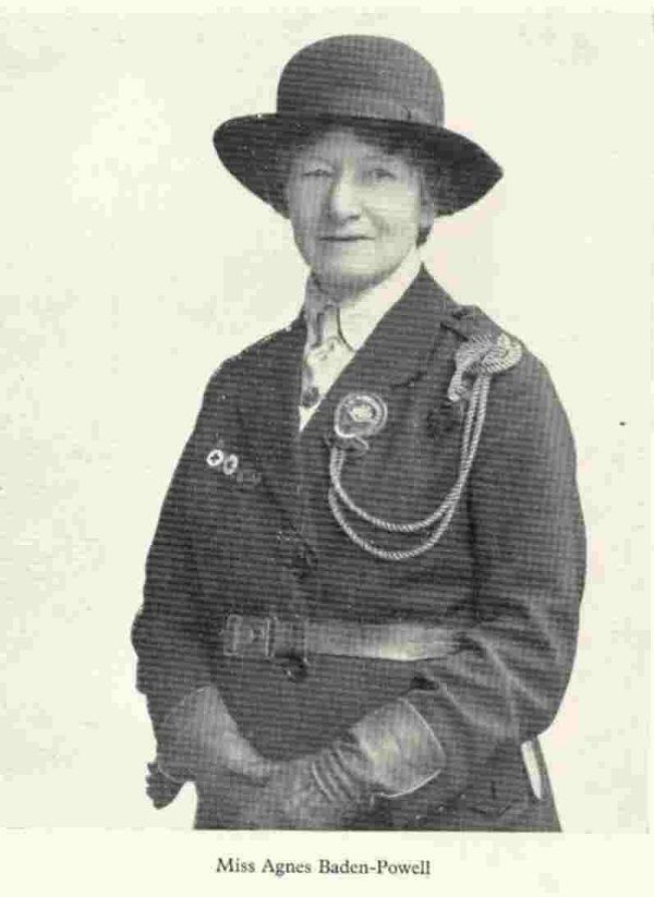 Miss Agnes baden-Powell reshaped the world