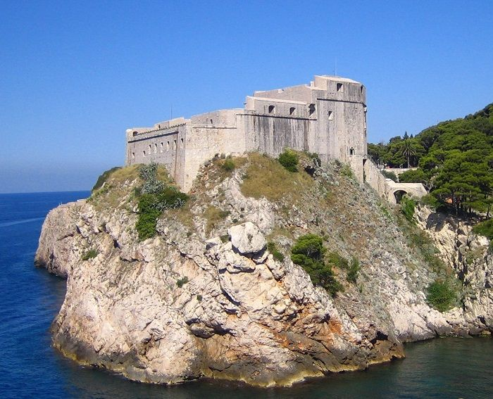 Lovrijenac Fortress, Croatia - Castles from Game of Thrones