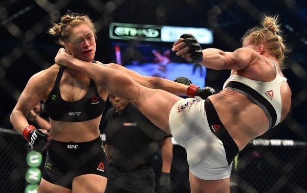Holly Holm knockout kick to Ronda Rousey