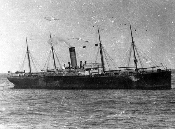 The californian ship near Titanic