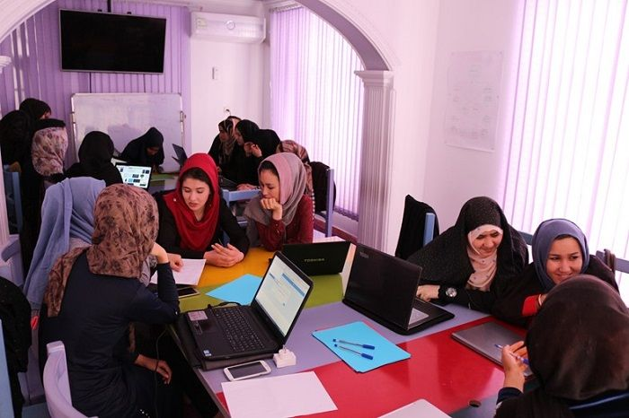 Code to Inspire encouraging young girls in Afghanistan