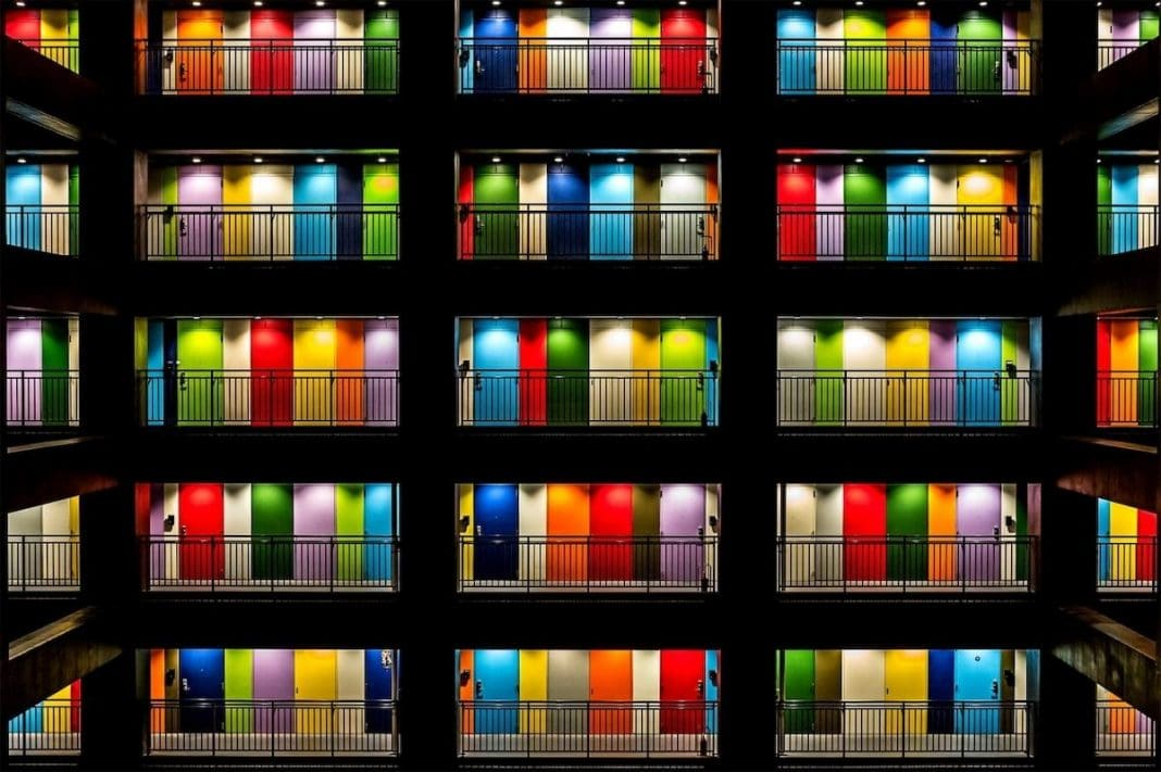 """Multi Color"" by Elizabeth Jenny Tane. Tokyo, Japan. 1° Classified, Architecture & Urban Spaces"