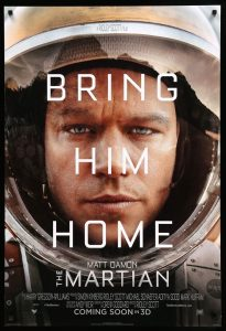 The Martian Movie - Books that turned into Movies