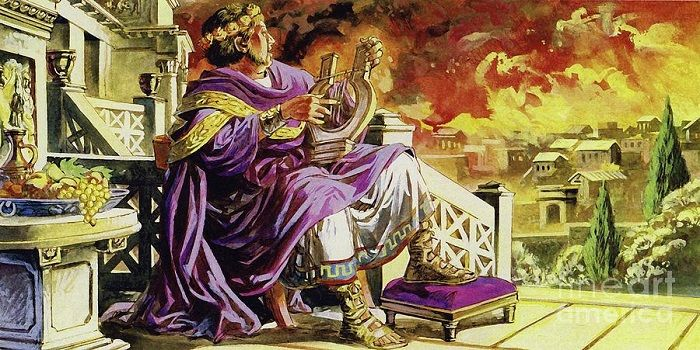 Nero Didn't Fiddle When Rome Was Burning