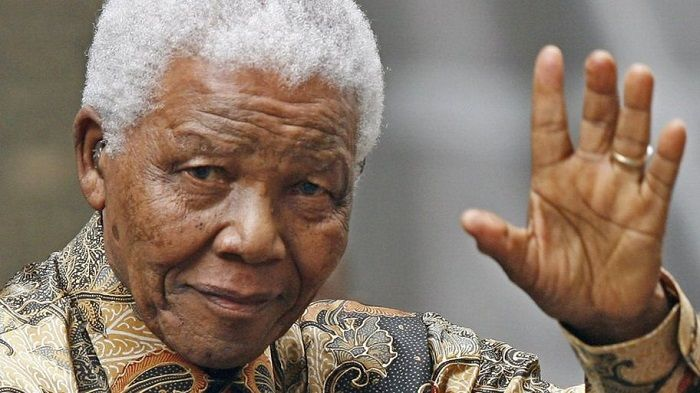 nelson mandela was adopted