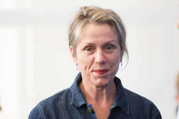 Frances McDormand was adopted
