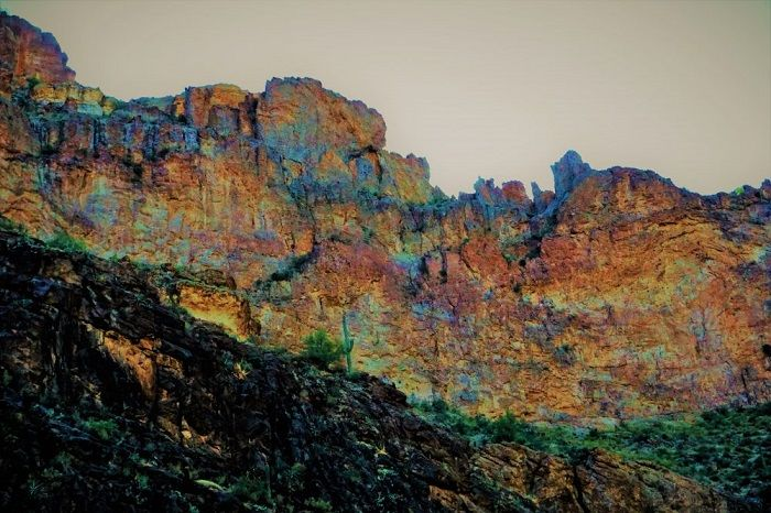 The Lost Gold Mine - Superstition Mountains