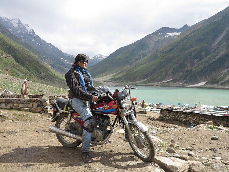 The Motorcycle Girl of Pakistan Zenith Irfan