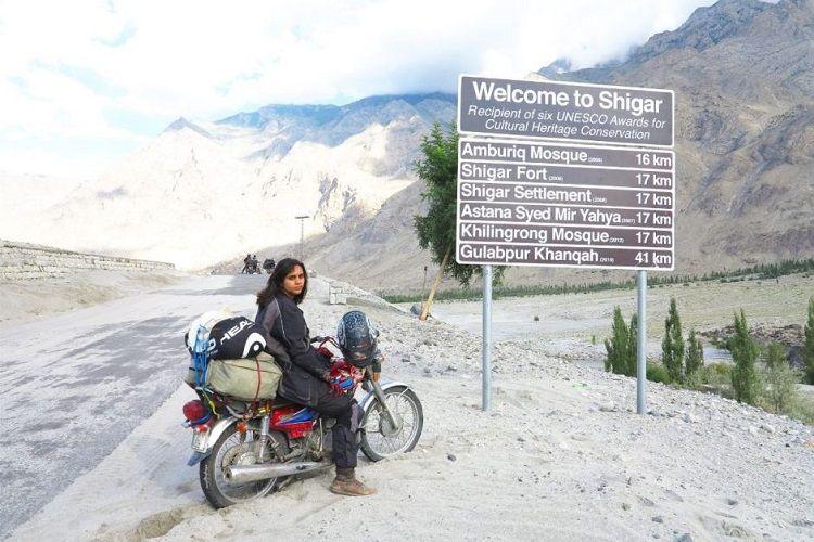The Motorcycle Girl of Pakistan