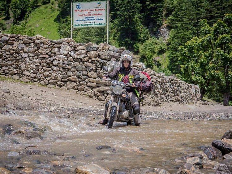 Zenith Irfan pakistani motorbiker