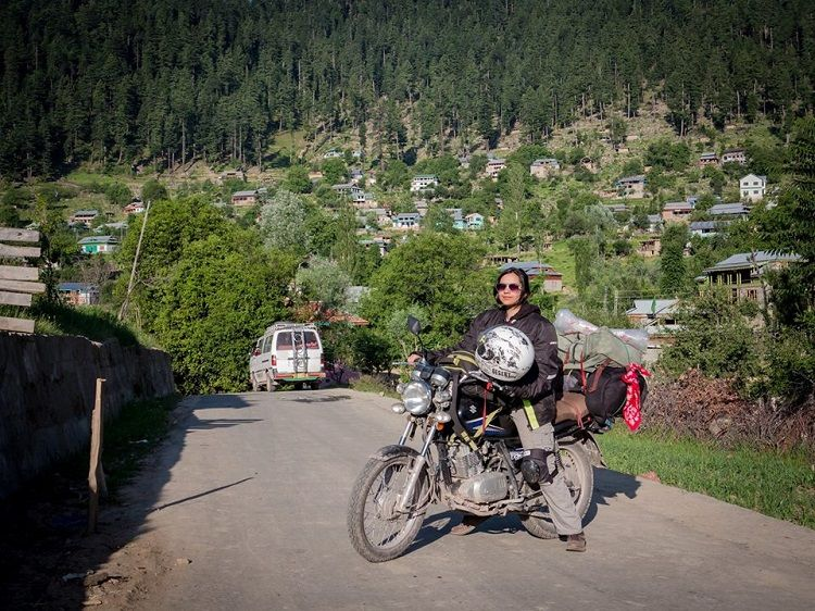 The Motorcycle Girl of Pakistan - Zenith Irfan