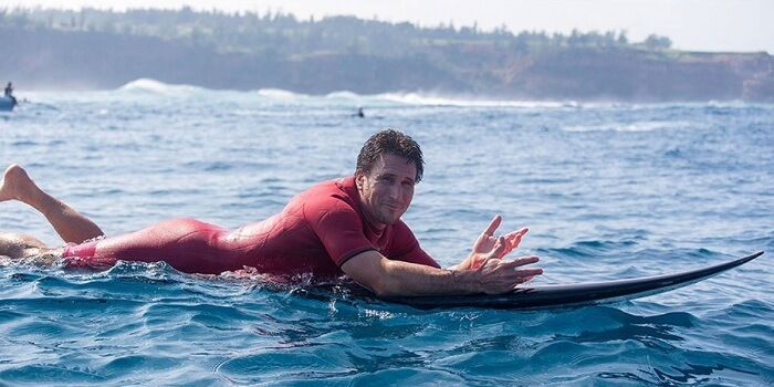 Aaron Gold - longest surfing