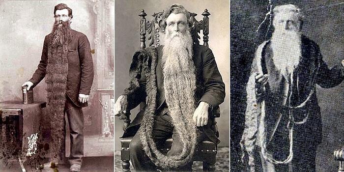Hans N. Langseth - world's longest beard