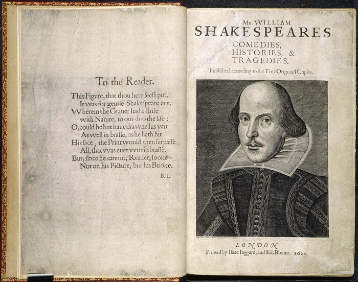 The First Folio - Most Expensive Books in the World