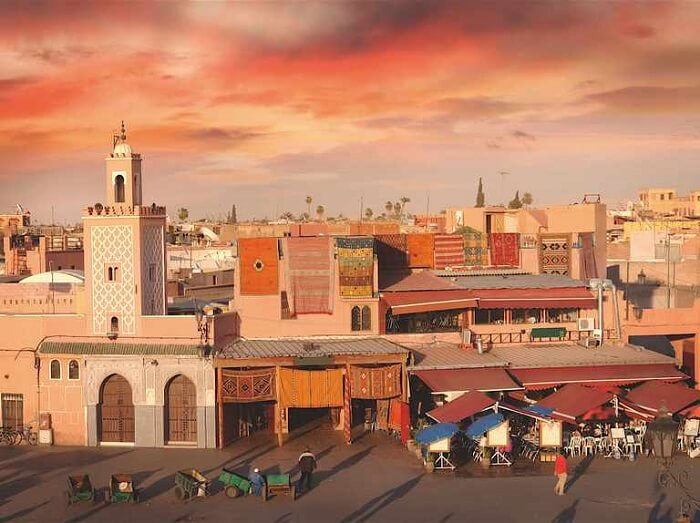 Marrakech, Morocco - Famous Travel Destinations in Africa
