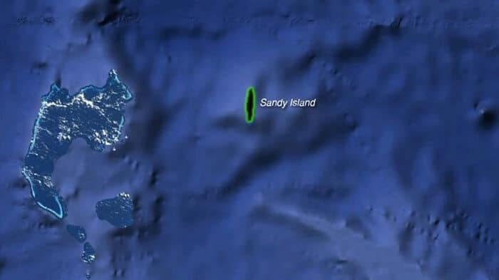 Sandy Island, South Pacific - Unmapped Places on the Earth