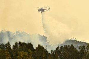 Rescue operations in Australia bushfire