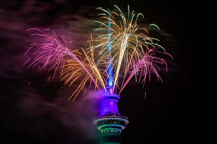 Auckland, New Zealand - New Year 2020 celebrations