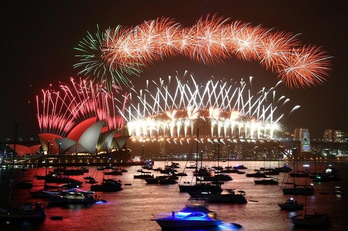 Sydney, Australia - New Year 2020 celebrations