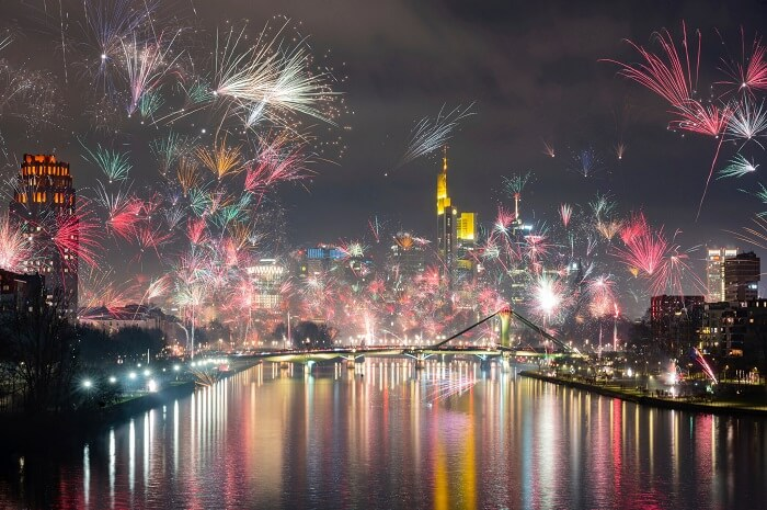 Germany New Year celebrations