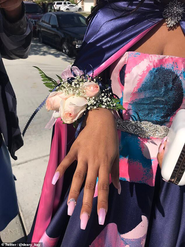 Kaylah bell dated with her grandfather to prom
