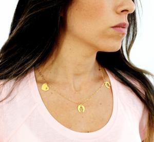 Trio necklace - Valentine's day gift ideas