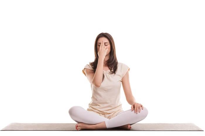 Alternate nostril breathing - Nadi shodhana pranayama