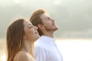 Visualization in breathing is beneficial for stress and anxiety