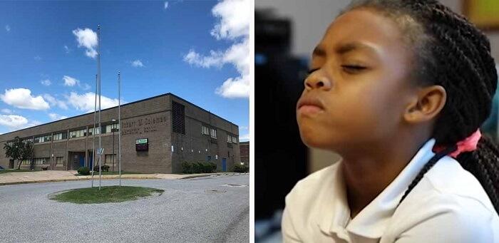A Baltimore School Uses Meditation