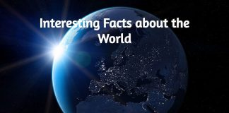 Some Random Interesting Facts about the World