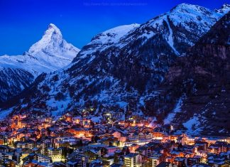 This Swiss Alps Mountain Town You Must Visit in Winters