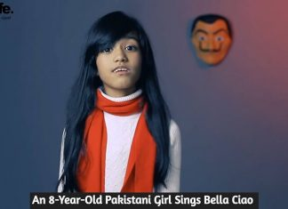 An 8-Year-Old Pakistani Girl Sings Bella Ciao