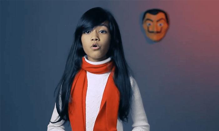 Pakistani Girl Singing Bella Ciao