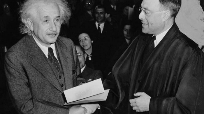 Albert Einstein was offered the position as president of Israel