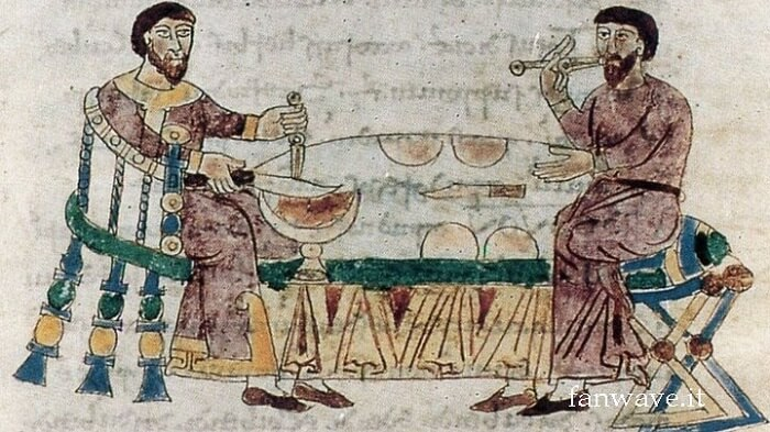 The use of forks was deemed blasphemous in ancient times