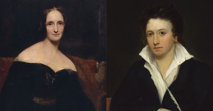Mary Shelley kept the heart of her dead husband