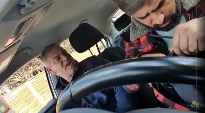 British-Pakistani Taxi Driver