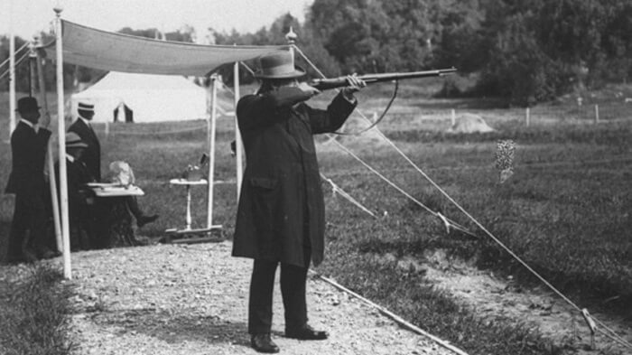 Live pigeon shooting in Olympics