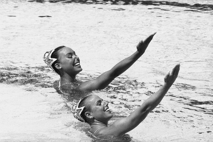 Solo synchronized swimming - Weird Sports in the Olympics