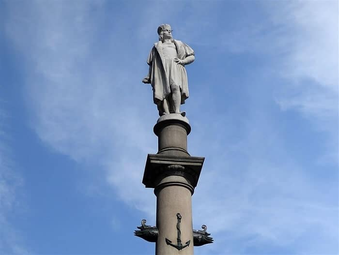 Christopher Columbus statue - Controversial Statues and Monuments