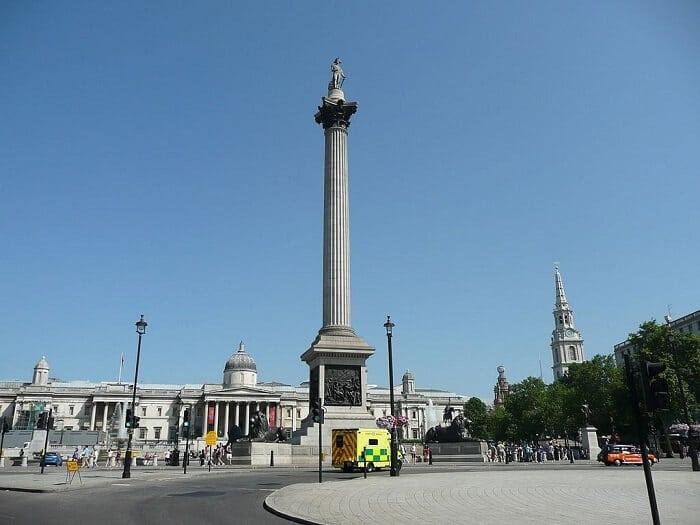 Nelson's Column, Trafalgar Square, London