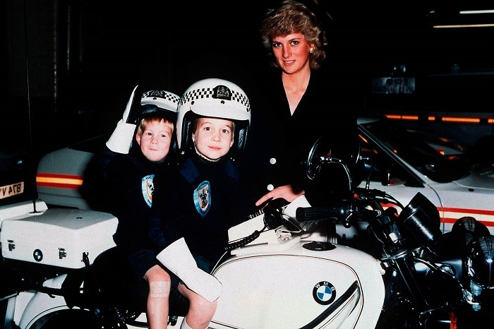 William and Harry young