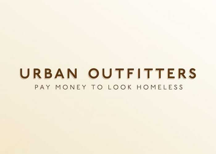Urban Outfitters - Hilariously Honest Brand Slogans