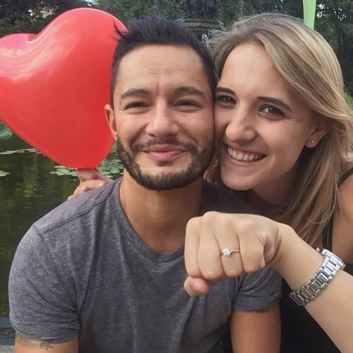 Jake Graf and Hannah