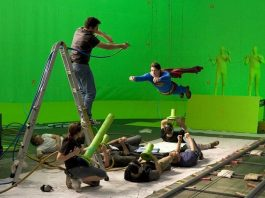 Amazing Behind the Scene Photos of Hollywood's Top Movies
