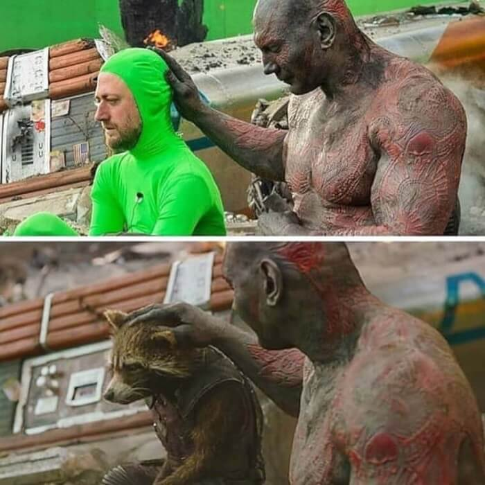 Guardians of The Galaxy - Behind the Scene Photos of Hollywood