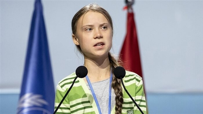 Greta Thunberg - Inspiring Women Alive Today