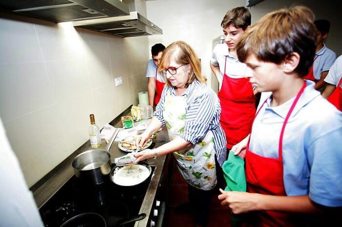 School Teaches Boys Household Chores