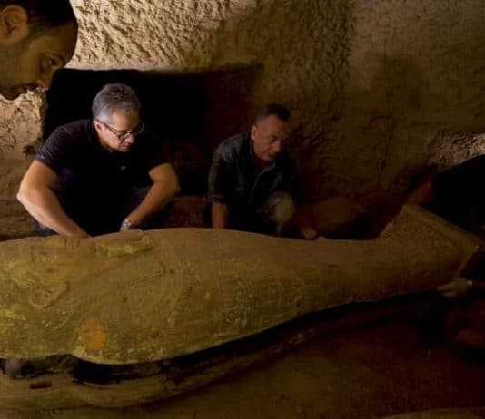 Archaeologists Found 13 Fully-Sealed Ancient Egyptian Coffins